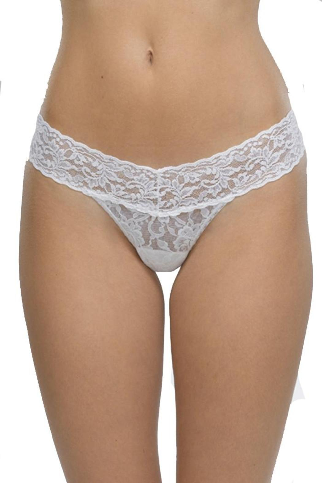 Hanky Panky Low Rise Thong - Back Cropped Image