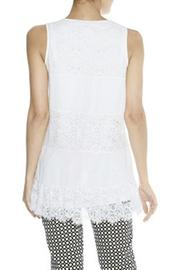 Darling Mixed Lace Tunic - Front full body