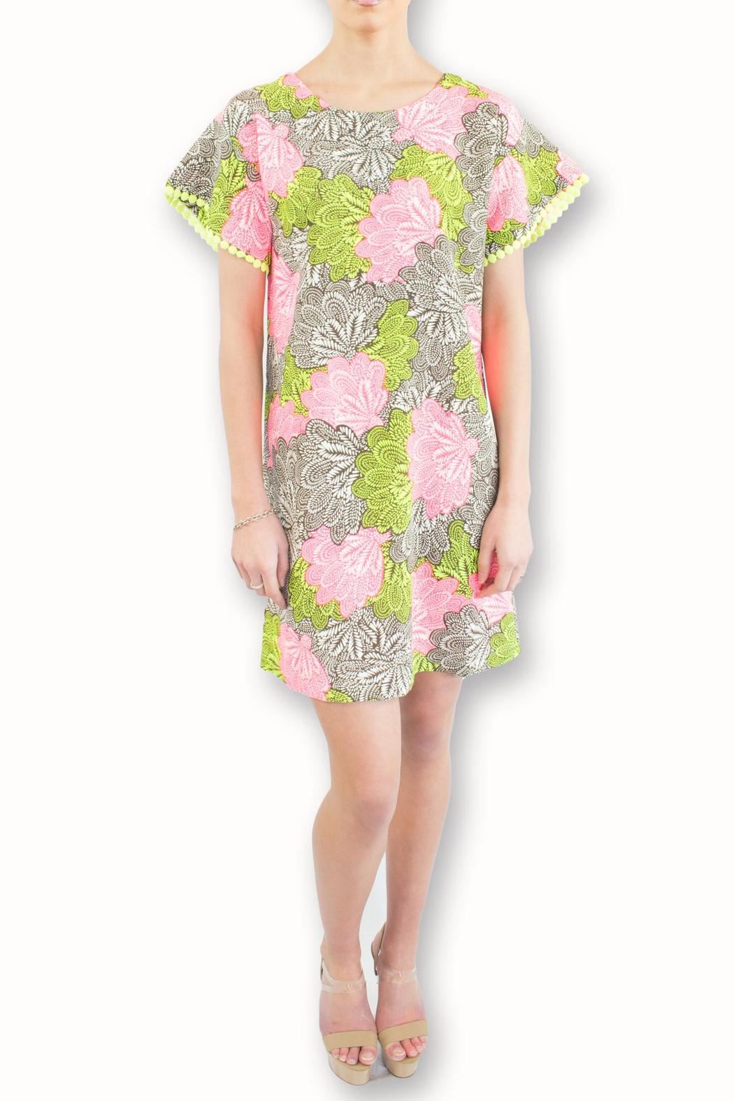 Uncle Frank Flower Power Dress - Front Full Image