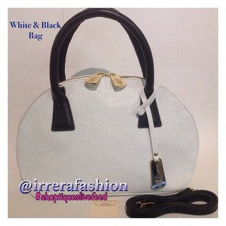 Shoptiques Product: Black and White Bag