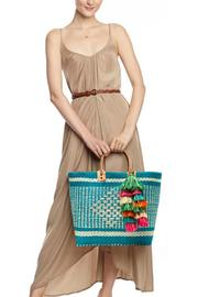 Shoptiques Product: Ibiza Aqua Tote - Front full body