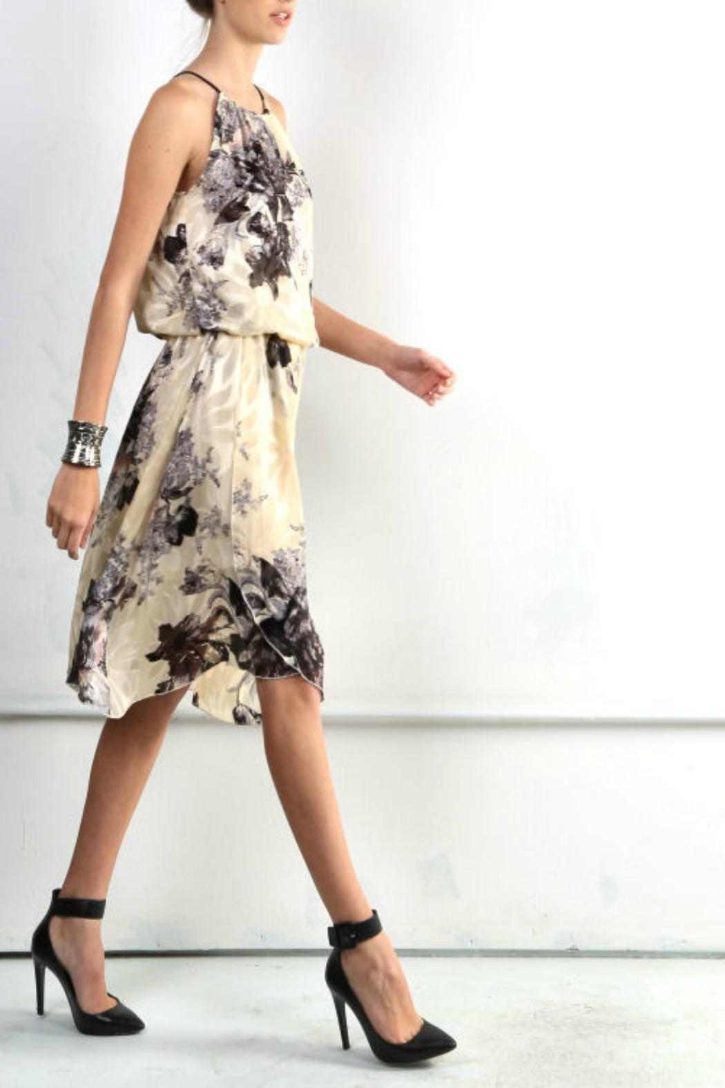 BEULAH STYLE Floral Mock Dress - Front Full Image