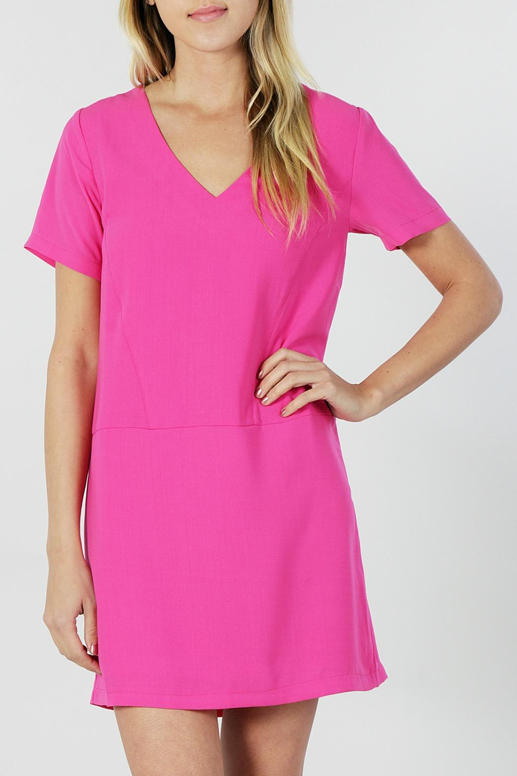 Very J Pink Shift Dress from New York by The Isle Of You — Shoptiques