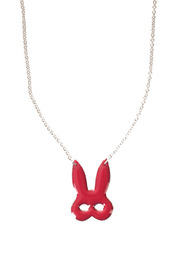 felicie aussi Rabbit Mask Necklace - Product Mini Image