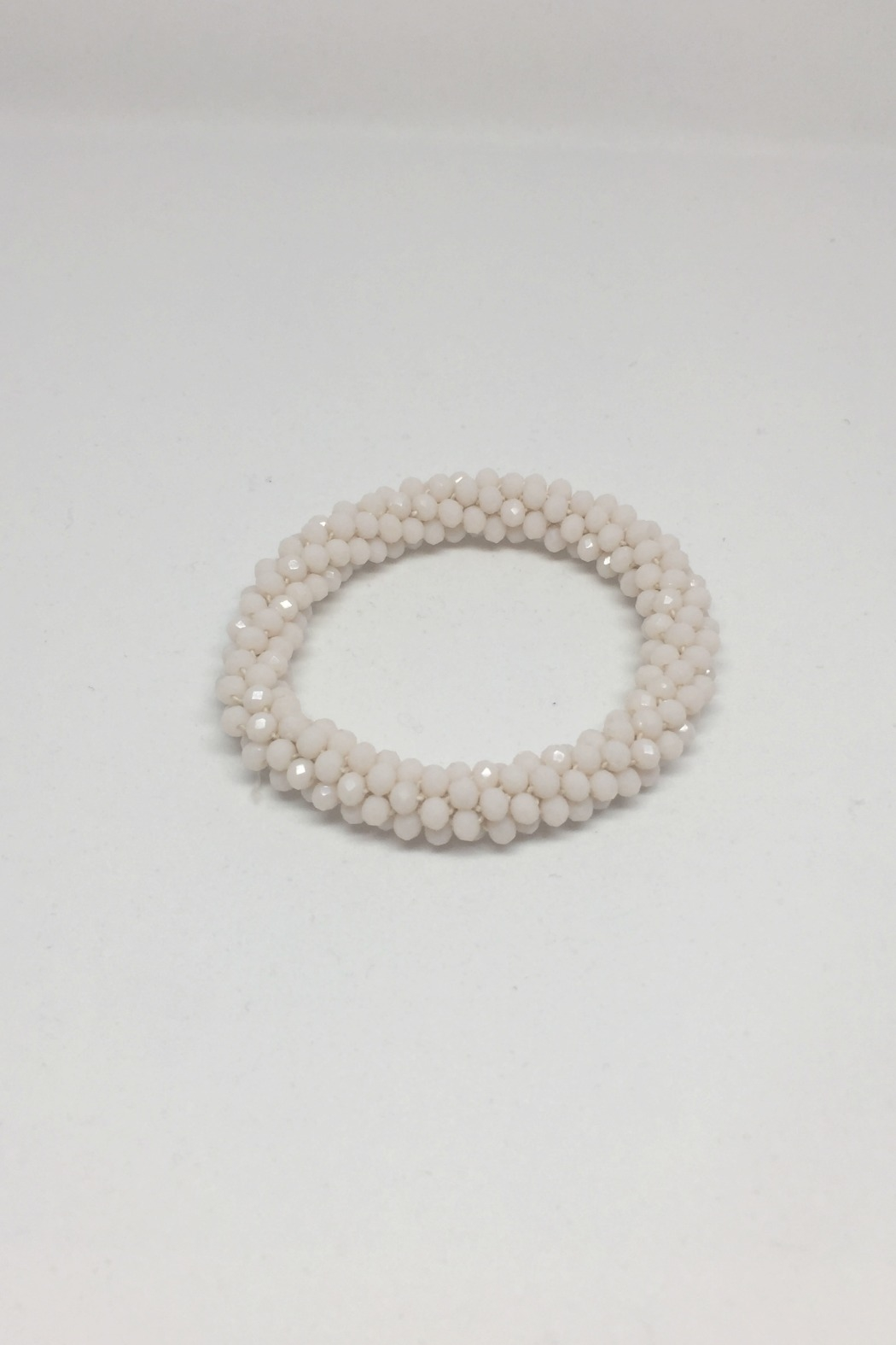 Accessorizit 4MM Crystal Rope Stretch - Front Cropped Image