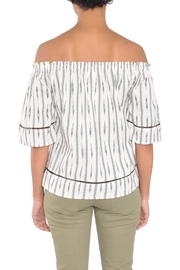 4our Dreamers Ikat Off-Shoulder Top - Side cropped