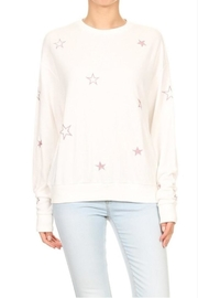 4SI3NNA Star Sweatshirt - Product Mini Image