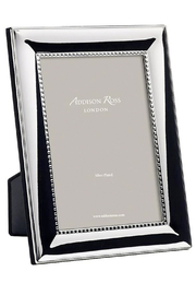 Addison Ross 4x6 Beaded Silver Plated Frame - Product Mini Image