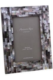 Addison Ross 4x6 Chequer Board Mother of Pearl Frame - Product Mini Image