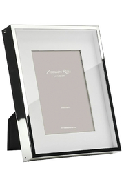 Addison Ross 4x6 Silver Box Frame - Front cropped