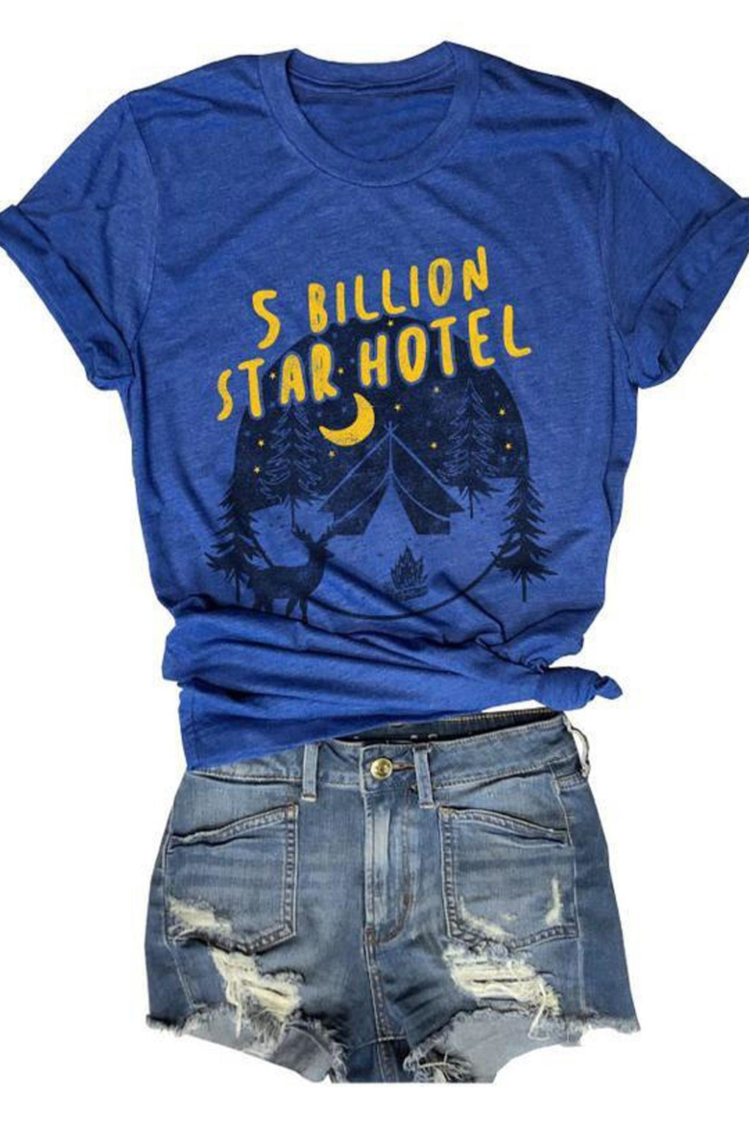 Everfitte 5-Billion Stars Tee - Front Cropped Image