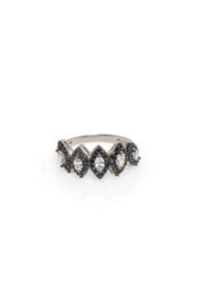 ANUJA TOLIA 5 Crown Ring - Front cropped