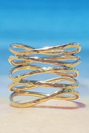 Maui Ocean Jewelry 5 Maui Waves Ring - Front cropped