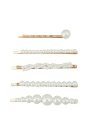 ICCO 5-Piece Pearl Hairpins - Product Mini Image