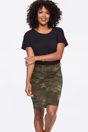 NYDJ 5 pocket camo  denim skirt - Product Mini Image