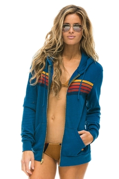 Aviator Nation 5 Stripe Hoodie - Product List Image