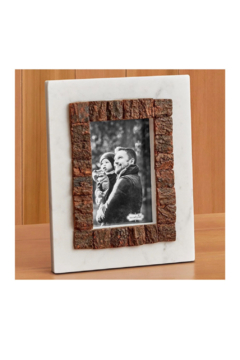 MudPie 5 x 7 Marble Bark Frame - Alternate List Image