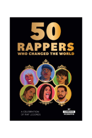 Chronicle Books 50 RAPPERS WHO CHANGED THE WORLD - Product Mini Image