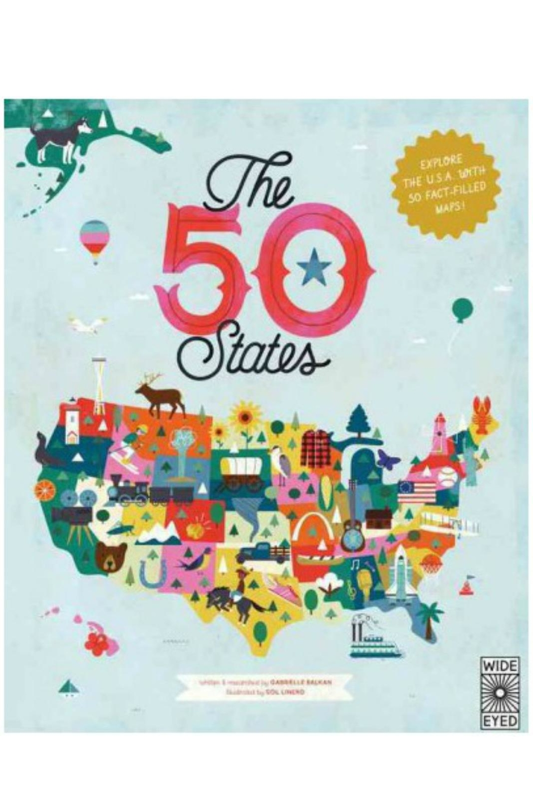 Hachette Book Group 50 States Book - Main Image