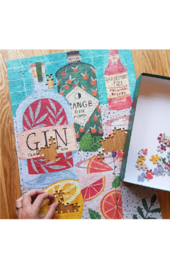 Talking Tables  500-Piece Gin Puzzle - Alternate List Image
