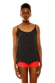 Shoptiques Product: Sleeveless Polka Dot Camisol - Front cropped