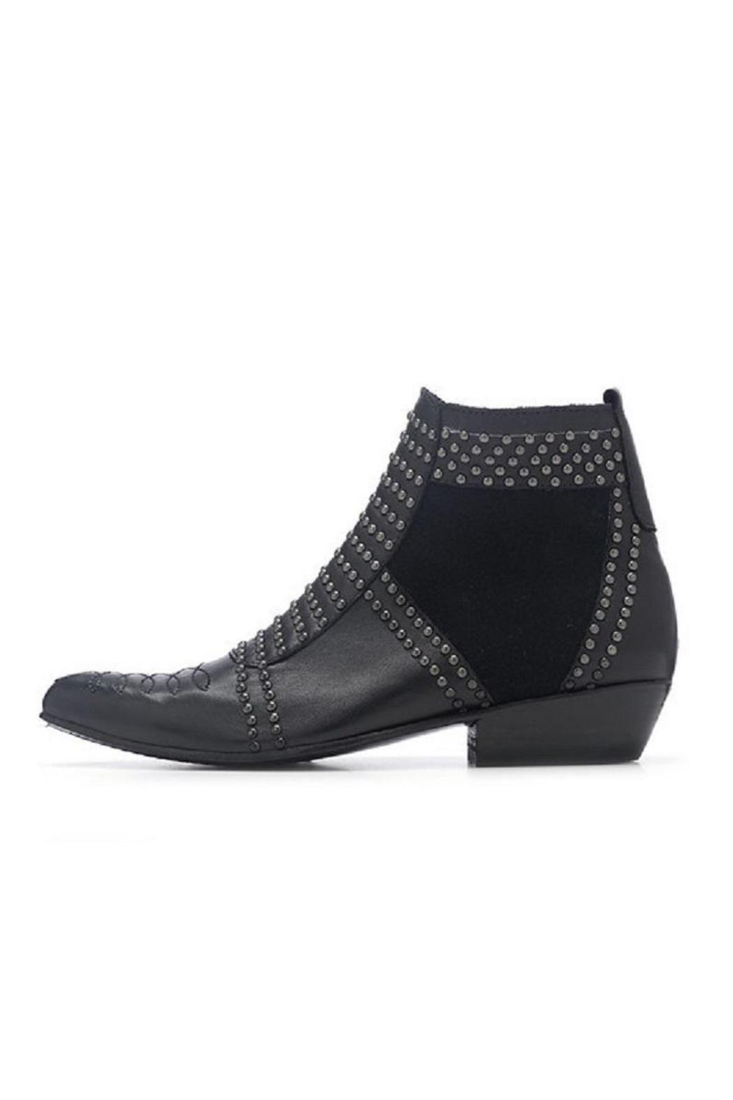 a144da22d8 Anine Bing Black-Studded Ankle Boot from Canada by Era Style Loft ...