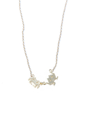 Green Space Invaders Necklace - Product Mini Image