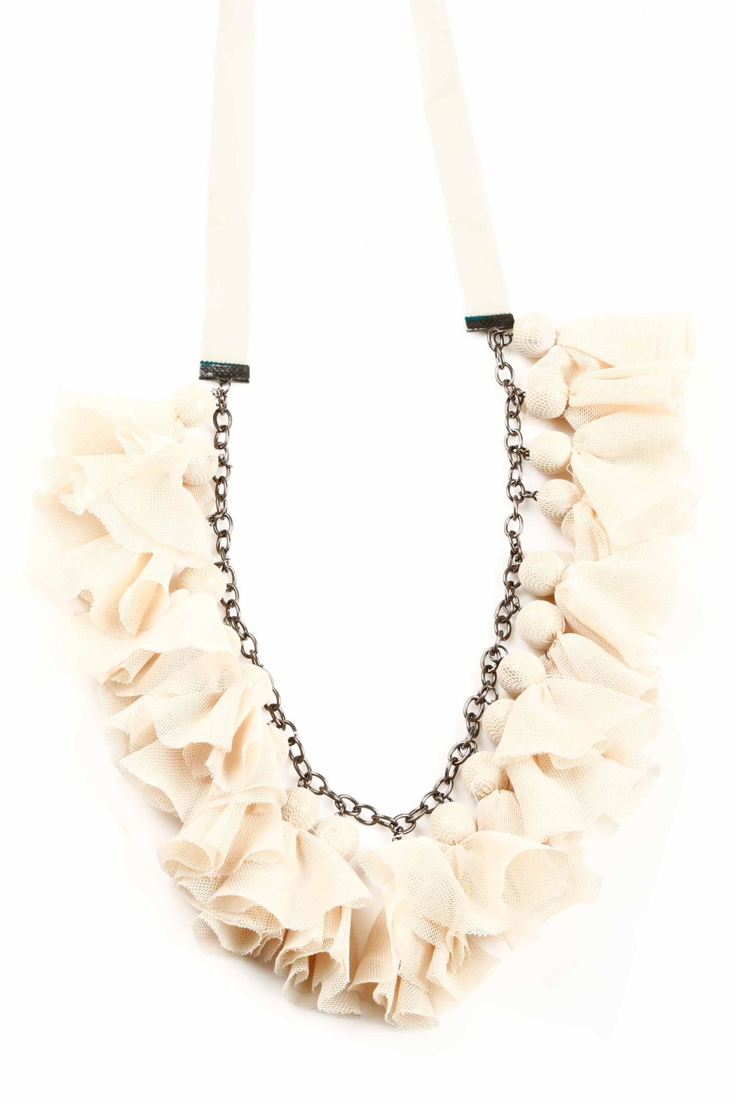 NU Tulle Necklace - Front Cropped Image