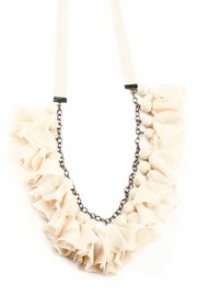Shoptiques Product: Tulle Necklace - Front cropped