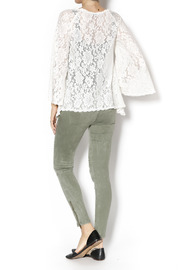 Gina Louise Lace Bell Sleeve Top - Side cropped