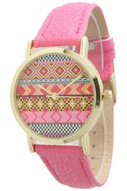 Olivia Pratt Tribal Geo Watch - Front full body