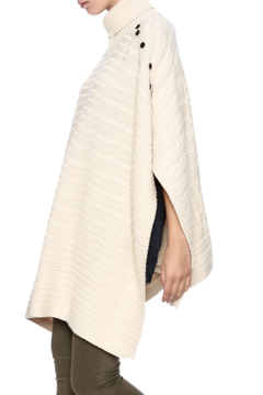 Shoptiques Product: Cable Turtleeck Poncho