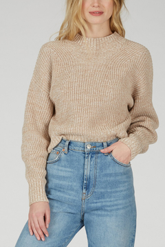 525 America 525 AMERICA COTTON CROPPED SWEATER - Product List Image