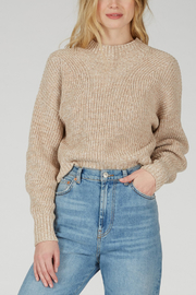 525 America 525 AMERICA COTTON CROPPED SWEATER - Product Mini Image