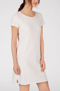 Shoptiques Product: 525 AMERICA FRENCH TERRY T SHIRT DRESS