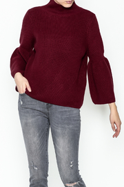 525 Crop Pullover Shaker Top - Front cropped