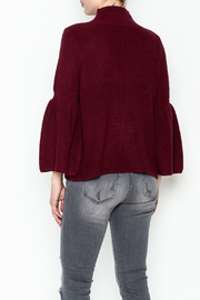 525 Crop Pullover Shaker Top - Back cropped