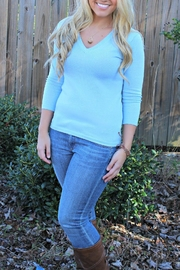 525 America Blue Cameron Sweater - Product Mini Image