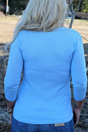 525 America Blue Cameron Sweater - Front full body
