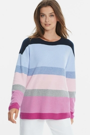 525 America Bold Stripe Sweater - Product Mini Image