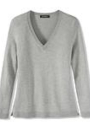 525 America Classic Vneck Sweater - Front cropped