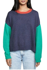 525 America Color Bloc Sweater - Product Mini Image