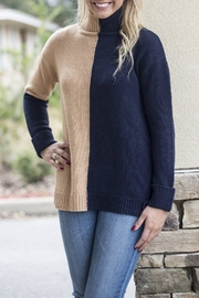 525 America Color Block Sweater - Front cropped