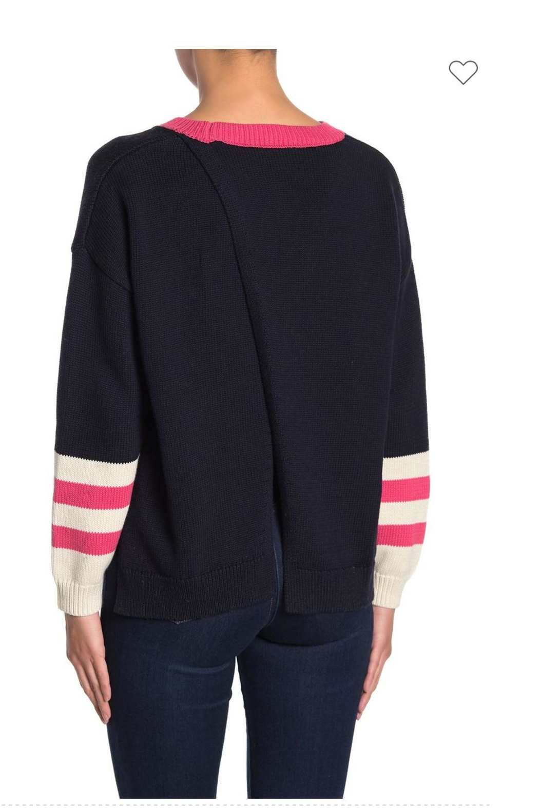 525 America Colorblock Sweater - Front Full Image