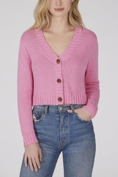 525 America Cropped Shaker Cardigan - Product List Image