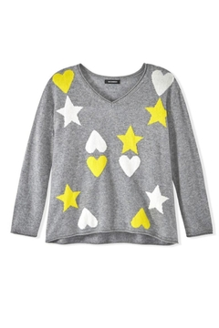 525 America Hearts Stars Sweater - Alternate List Image