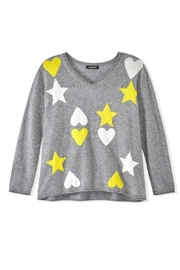 525 America Hearts Stars Sweater - Side cropped