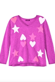 525 America Hearts Stars Sweater - Front cropped