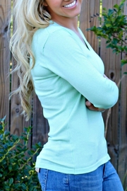 525 America Mint Cameron Sweater - Side cropped