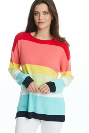 525 America Modern Stripe Sweater - Product Mini Image